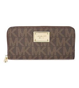 Authentic Michael Kors Large Wallet -Pristine Condition