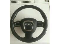 Audi a3 dsg multifunction steering wheel airbag
