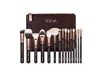 Zoeva Rose Gold Complete Make up Brushes Set