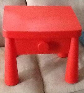 Ikea plastic table