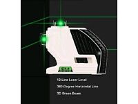 Self-Leveling Cross-Line Laser Level 12 Lines with magnetic base