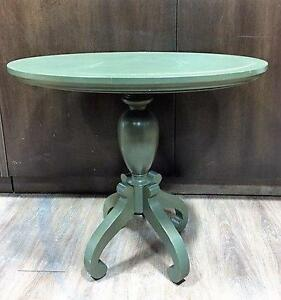 Small Oval Table with Pedestal Base