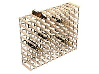 90 Bottle Free Standing Wine Rack
