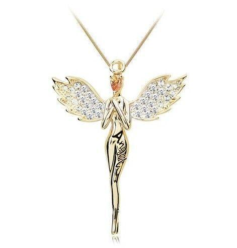 Guardian Angel Necklace Ebay