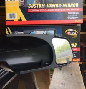 Towing Mirrors - fit 2007-2013 Silverado or Sierra truck