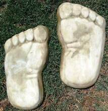 Stepping Stones - SET OF 2 FEET LEFT AND RIGHT Elizabeth North Playford Area Preview