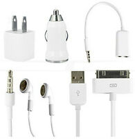 Kit (5mx) chargeur/écouteur 30 pins iPhone/iPad/iPod charger set