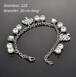 Bracelets en stainless ou Harley: 12$ chaque