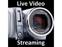 LIVE VIDEO BROADCAST - Multi-Media eCommerce, Telecoms - Live Event Web Streaming, Expert Web Design