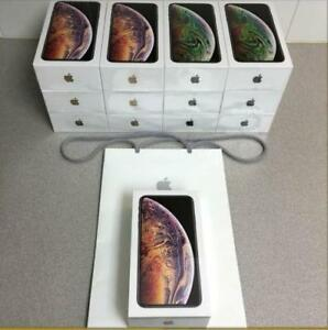 B-New Sealed Box IPhone Xs, Xs Max 64GB, 256GB, 1 Year AppleCare