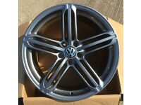 "Brand new set of 20"" Alloy wheels VW T5/T6 transporter ."