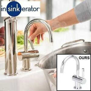 NEW INSTANT HOT WATER DISPENSER F-H3300C 243899636 FAUCET ONLY INSINKERATOR CHROME Indulge Modern KITCHEN