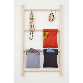3 space saving Towel ladder racks, that fix to a door or wall. to hang your towels or clothes.