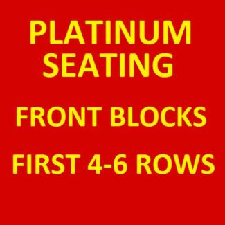 1-5 FLEETWOOD MAC TICKETS FRONT BLOCKS PLATINUM SEATING Innaloo Stirling Area Preview