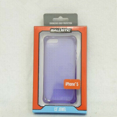 New OEM Ballistic LS Jewel Purple Case For iPhone 5/5s/SE ()