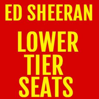 1-6 ED SHEERAN A RESERVE SEATED PERTH TICKETS Innaloo Stirling Area Preview