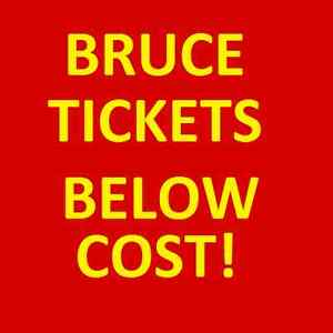 1-8 BRUCE SPRINGSTEEN PERTH TICKETS BELOW COST Leederville Vincent Area Preview