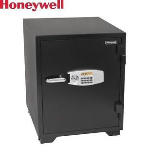 NEW* HONEYWELL SECURITY SAFE - 120470845 - 3.5 CU. FT. WATER RESISTANT STEEL FIRE AND SECURITY SAFES LOCKABLES LOCKBOX