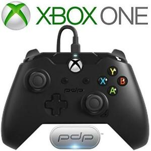 REFURB XBOX ONE PDP CONTROLLER - 114247293 - BLACK WIRED VIDEO GAMES ACCESSORIES