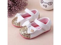 Toddler Sparkly bowknot Shoes (international item)
