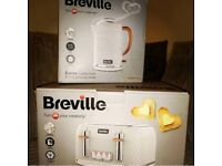 Brand new Breville toaster and kettle