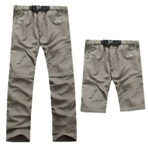 Men's zip off convertible pants/shorts outdoor pants - CAD 30 ea