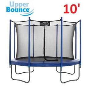 NEW UPPER BONCE TRAMPOLINE 10 UBSF01-10 250401443 WITH ENCLOSURE SET TOY GAME BOUNCER KIDS