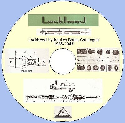 LOCKHEED HYDRAULICS BRAKE CATALOGUE 1935-1947