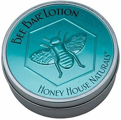 Honey House Naturals Bee Bar Solid Lotion Large Tin 2.0 oz - Meadow Fragrance