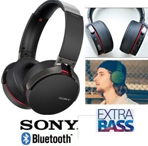 NEW SONY EXTRA BASS HEADPHONES WITH NOISE CANCELLING