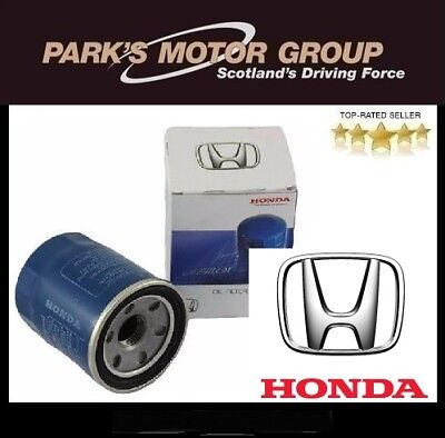 GENUINE NEW HONDA OIL FILTER PETROL MODELS - 15400RBAF01