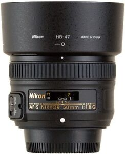 NIKON 50mm f1.8 G AF-S lens in excellent condition in the box