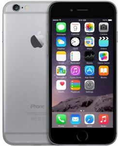 Iphone 6 Space Grey 16 GB with 2 otterboxes + lifeproof case