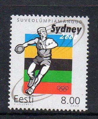 ESTONIA MNH 2000 SG376 OLYMPIC GAMES - SYDNEY