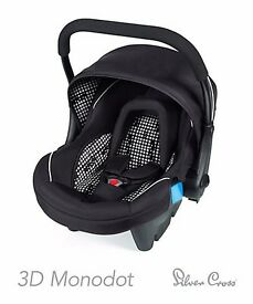 Mothercare/Silver Cross car seat/ baby carrier. Priced to sell quickly. Space needed