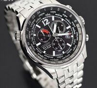 Citizen Chronograph Eco Drive Mens Designer Luxury Watch New
