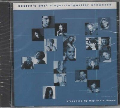 Boston's Best Singer - Songwriter Showcase Volume 4 ~ Various Artists ~ CD ~