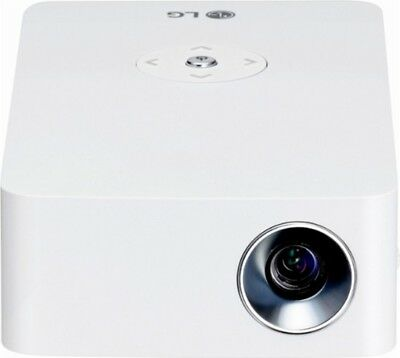 New LG PH30JG 720p Wireless DLP Portable Projector White Mini Beam 1280x720