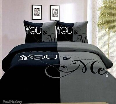 parure de lit housse de couette you & me
