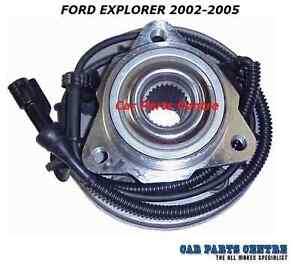 ford explorer 2002 2005 1 front wheel bearing hub kit. Black Bedroom Furniture Sets. Home Design Ideas