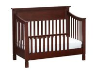 Toddler Bed & Changing Table - great quality (US Pottery Barn brown/espresso)