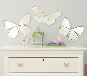 Pottery Barn Kids Butterfly Mirrors - perfect condition!