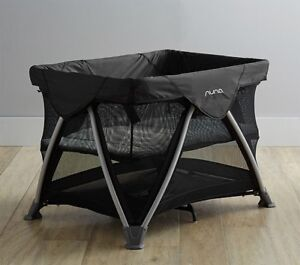 Nuna Sena black Play yard -  like new