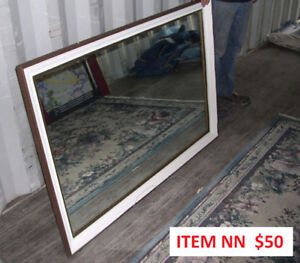 Large Antique Miroir