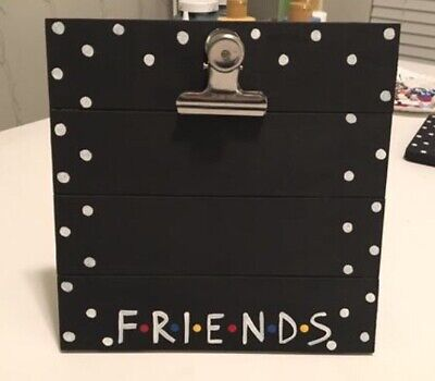 FRIENDS TV Show Wooden Clipboard Picture Frame Black 4x6](Movie Clipboard)