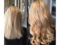 Blush Hair Extensions £250 Fullhead All methods Nano Rings Fusion Book Now FREE REMOVAL