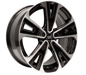 18x8 Enkei SVX 5x120 wheels 235/60r18 5x4.75