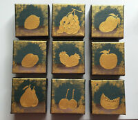 Christmas Gift painting  Fruit Painting Canvas Art kitchen Art
