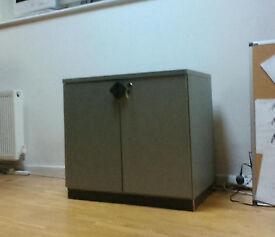 Desk High Cupboard / Storage