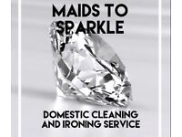 Maids To Sparkle - Domestic Cleaning and Ironing Service
